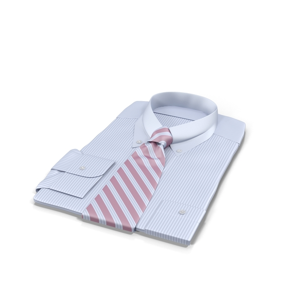 Shirt with Tie Object