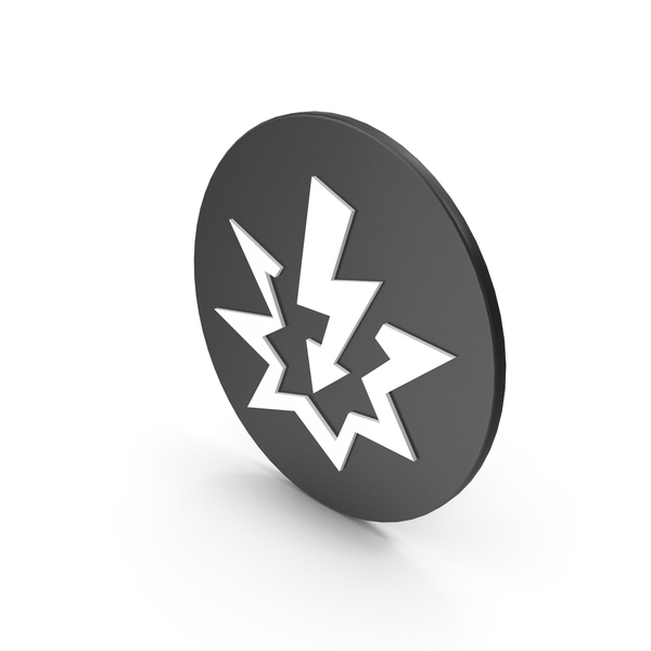 Caution: Shock Icon PNG & PSD Images