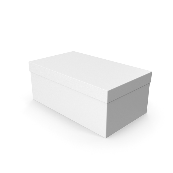 Shoe Box White PNG & PSD Images