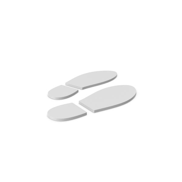 Logo: Shoe Footprint Symbol PNG & PSD Images