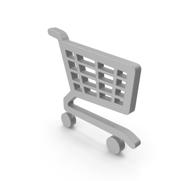 Shopping Cart Icon with Wheels PNG & PSD Images