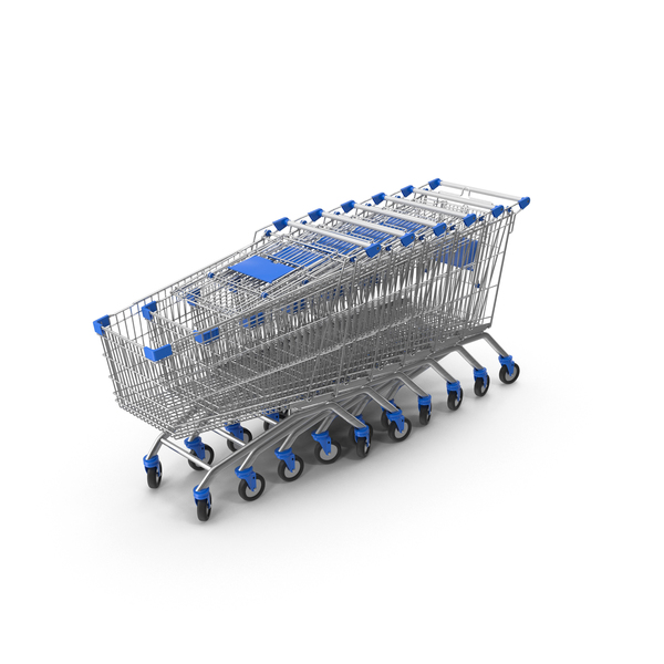 Shopping Cart Row PNG & PSD Images