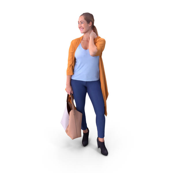 Shopping Woman PNG & PSD Images