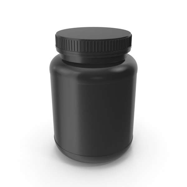 Short Protein Bottle PNG & PSD Images