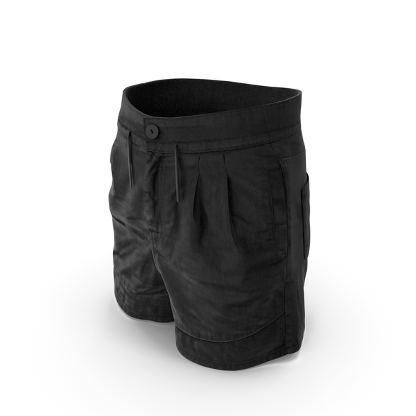 Shorts Black PNG & PSD Images