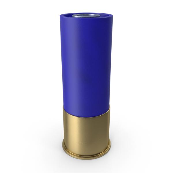 Shot Gun Bullet Blue PNG & PSD Images