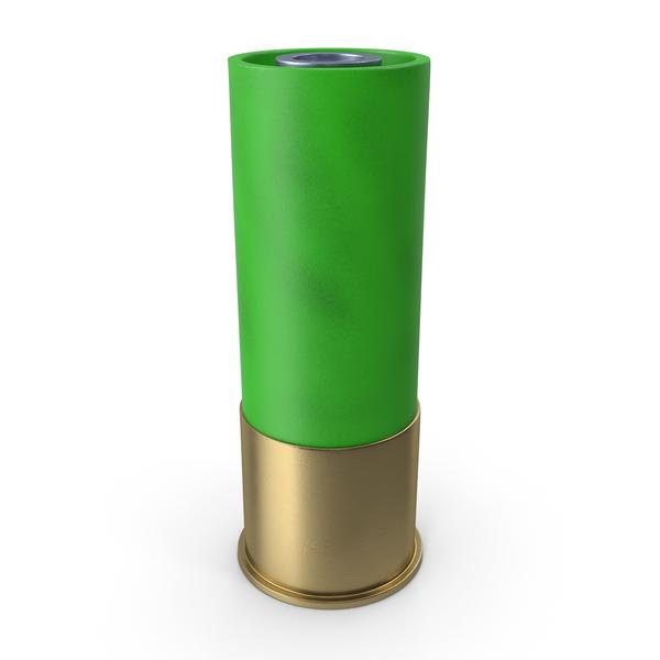 Shot Gun Bullet Green PNG & PSD Images