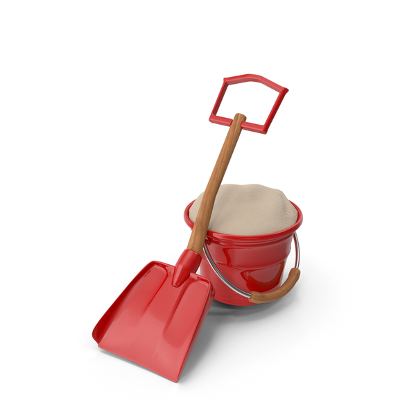 Sand: Shovel and Bucket PNG & PSD Images