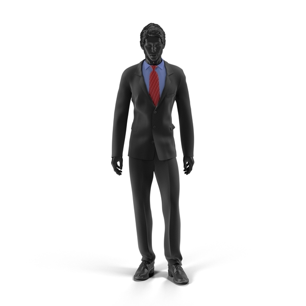 Showroom Mannequin Male In Business Suit PNG & PSD Images