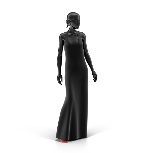 Showroom Mannequin With Dress PNG & PSD Images