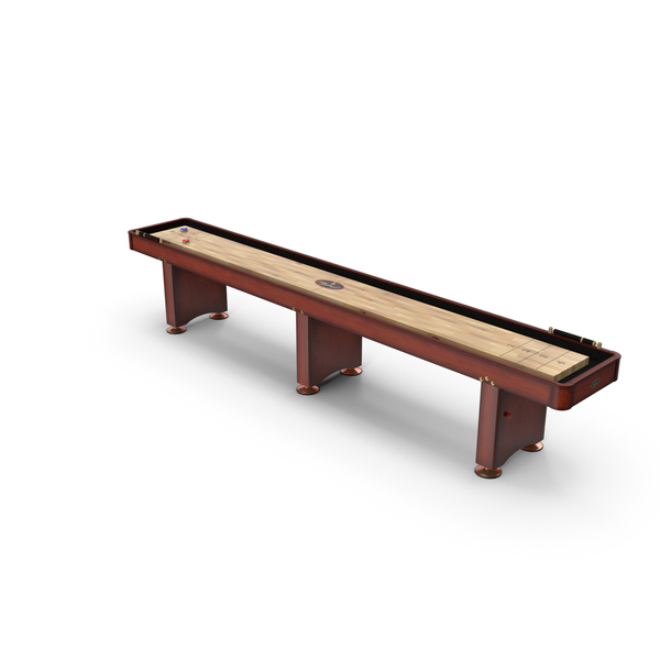 Shuffleboard Table PNG & PSD Images