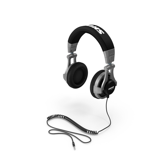 SHURE Headphones PNG & PSD Images
