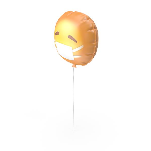 Sick Emoji Balloon PNG & PSD Images