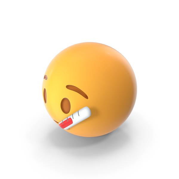 Sick Emoji PNG & PSD Images