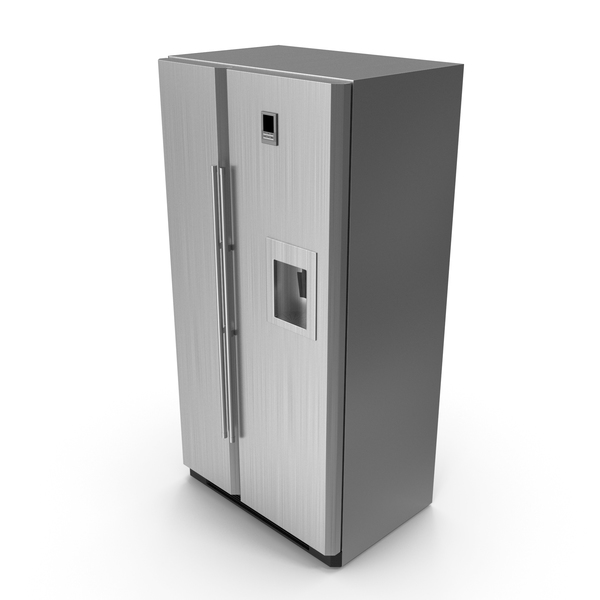 Refrigerator: Side by Side Fridge PNG & PSD Images