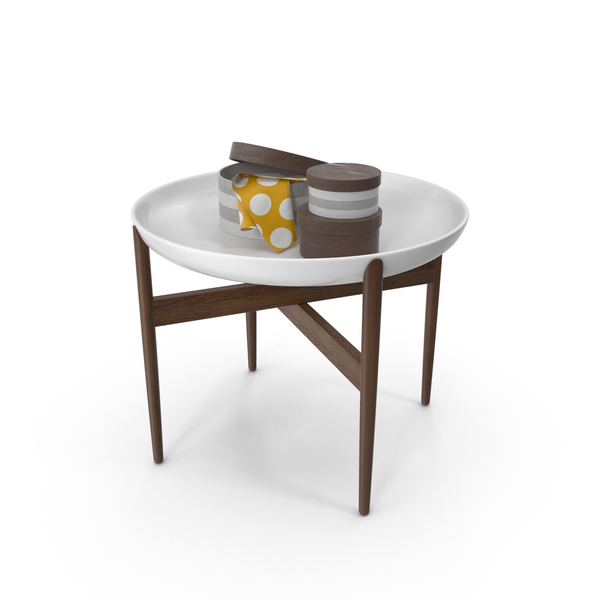 End: Side Table Object