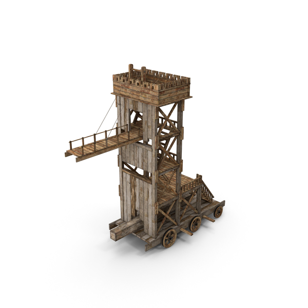 Siege Tower PNG & PSD Images