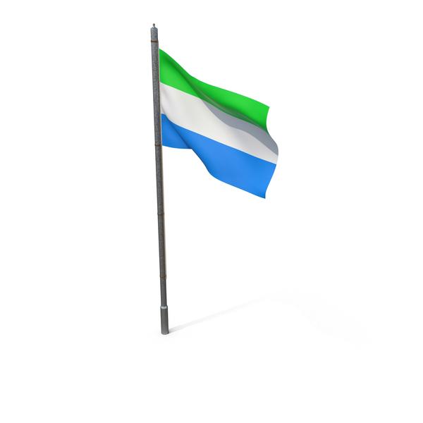 Sierra Leone Flag PNG & PSD Images