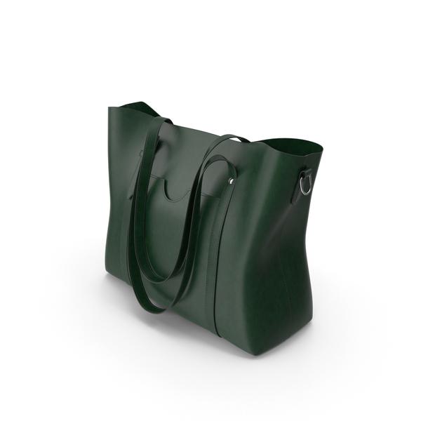 Sifini Green Handbag PNG & PSD Images