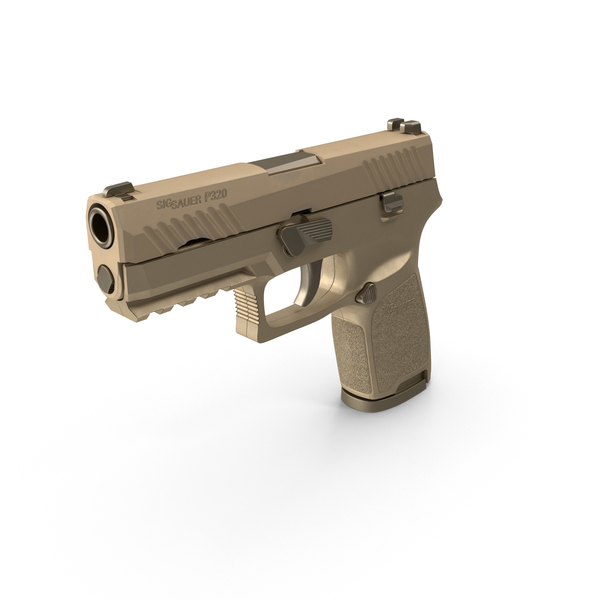 SIG Sauer P320 Compact Size Sand Object