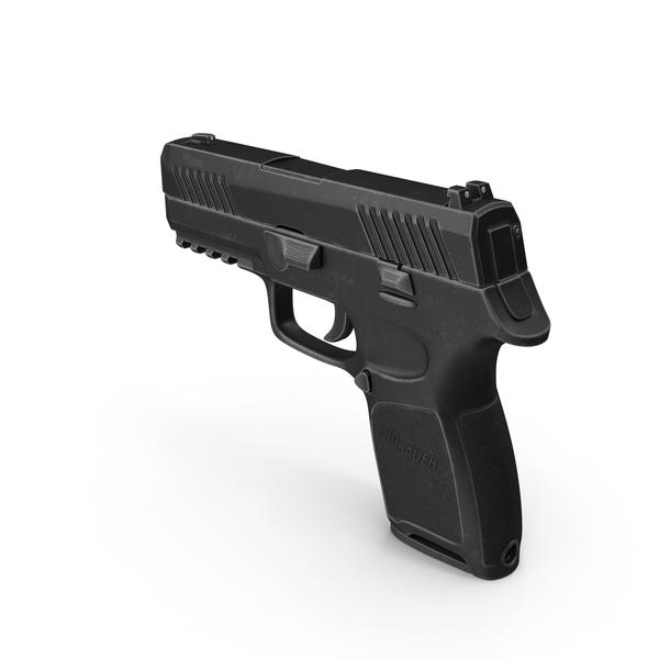 SIG Sauer P320 Pistol PNG & PSD Images