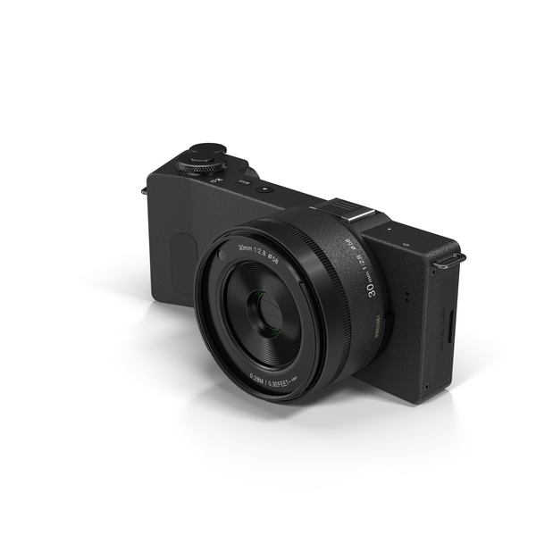 Sigma DP3 Quattro Digital Camera PNG & PSD Images