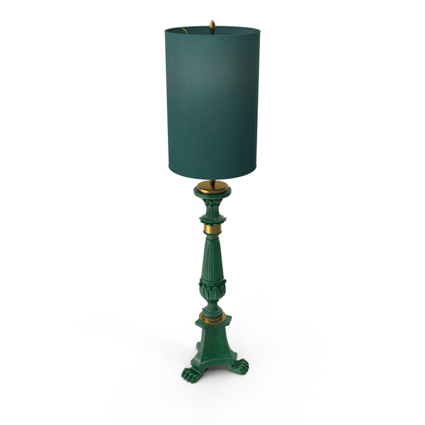 Sigma l2 Big Green Floor Lamp PNG & PSD Images