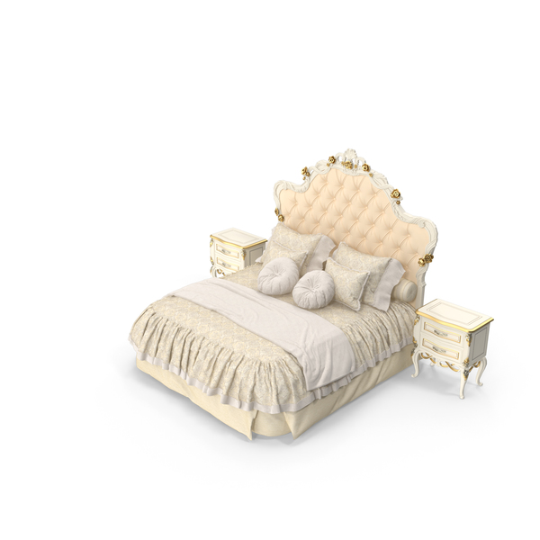 Bed: Signorini & Coco Collezione Forever Classical Bedroom Set PNG & PSD Images