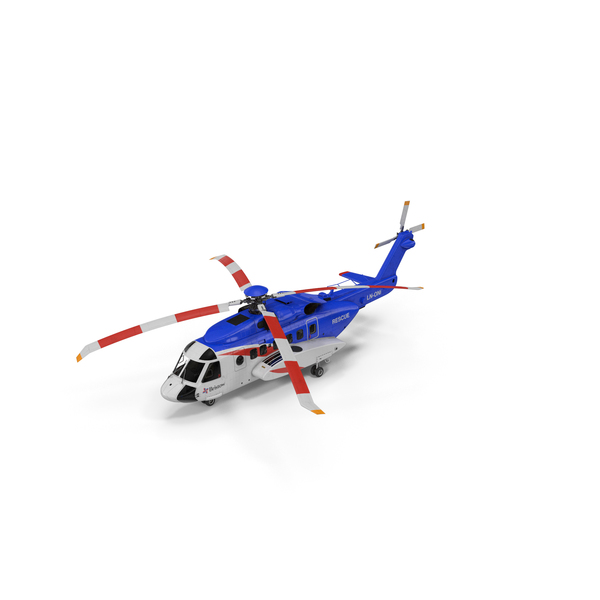 Sikorsky S-92 Civil Helicopter PNG & PSD Images
