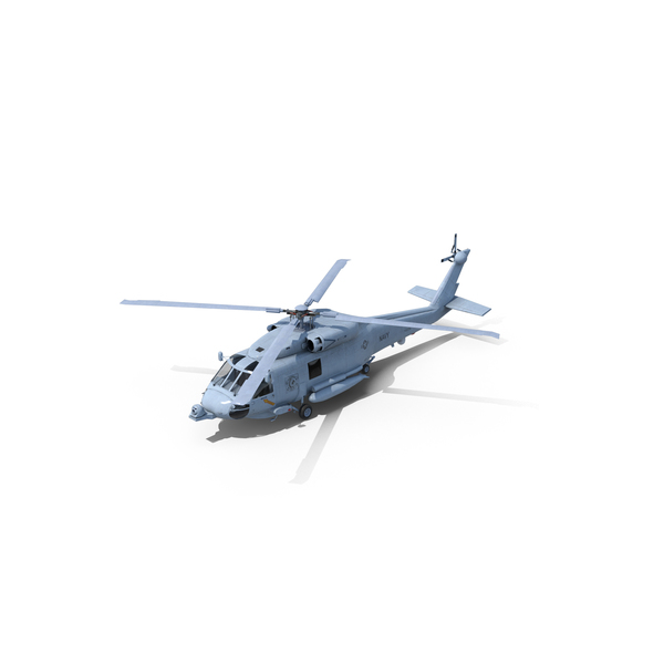 Sikorsky SH-60 Seahawk Helicopter PNG & PSD Images