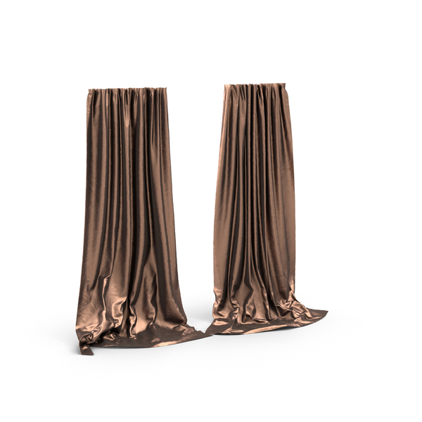 Silk Curtains PNG & PSD Images