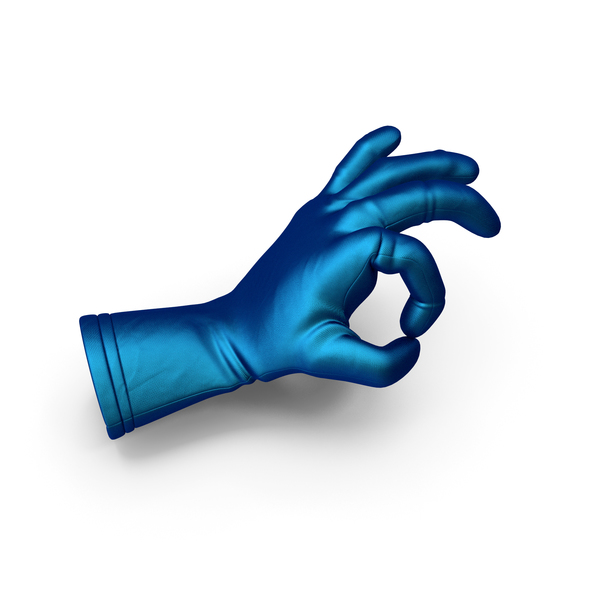 Gloves: Silk Glove OK Gesture PNG & PSD Images