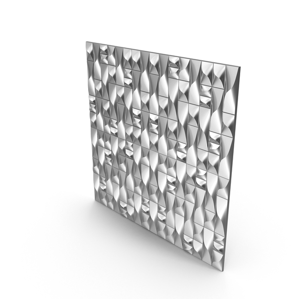 Silver Abstract Panel Wall PNG & PSD Images