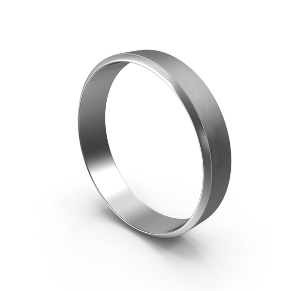 Silver Band Ring PNG & PSD Images