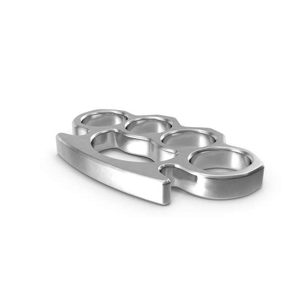 Silver Brass Knuckles PNG & PSD Images