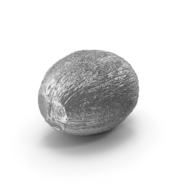 Silver Coconut PNG & PSD Images