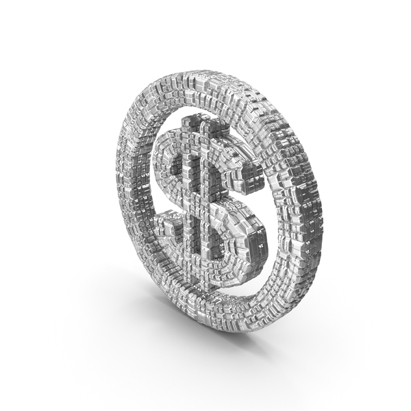 Silver Dollar Symbol PNG & PSD Images