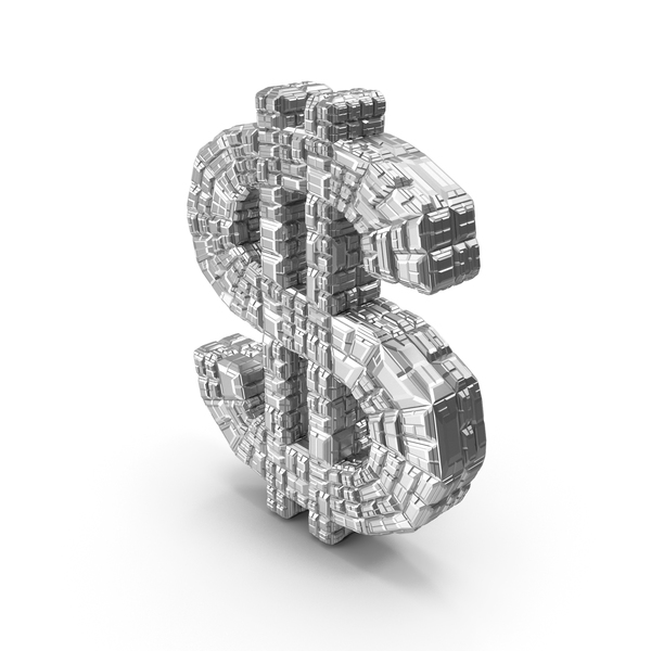 Sign: Silver Dollar Symbol PNG & PSD Images
