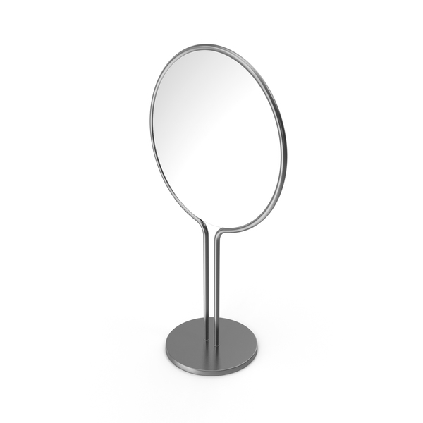 Silver Dressing Table Mirror PNG & PSD Images