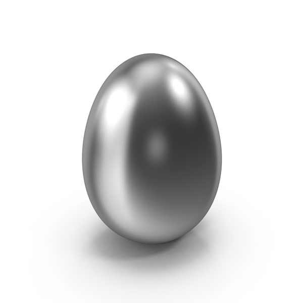 Silver Easter Egg PNG & PSD Images