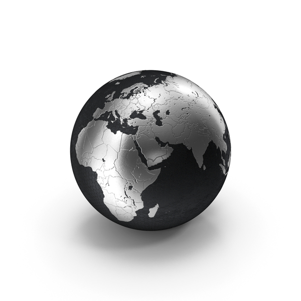 Silver Globe PNG & PSD Images