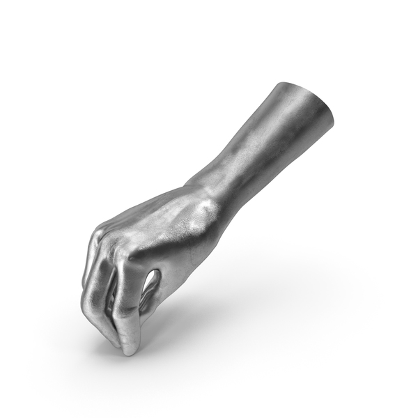 Silver Hand Pouring Pose PNG & PSD Images