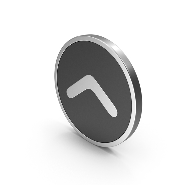 Silver Icon Arrow PNG & PSD Images
