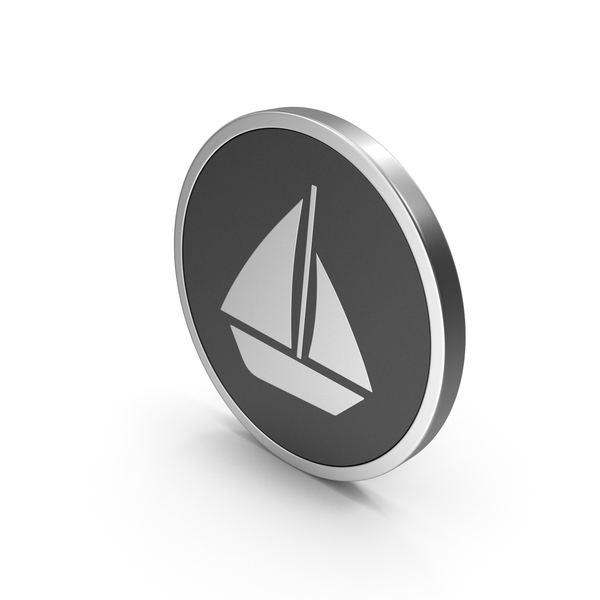 Symbols: Silver Icon Boat PNG & PSD Images