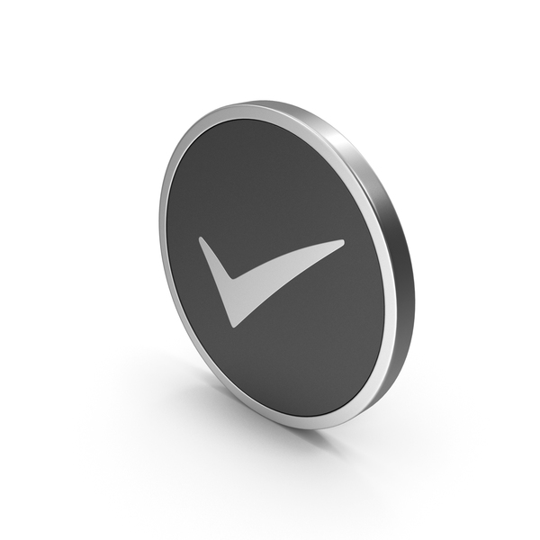 Logo: Silver Icon Checkmark PNG & PSD Images