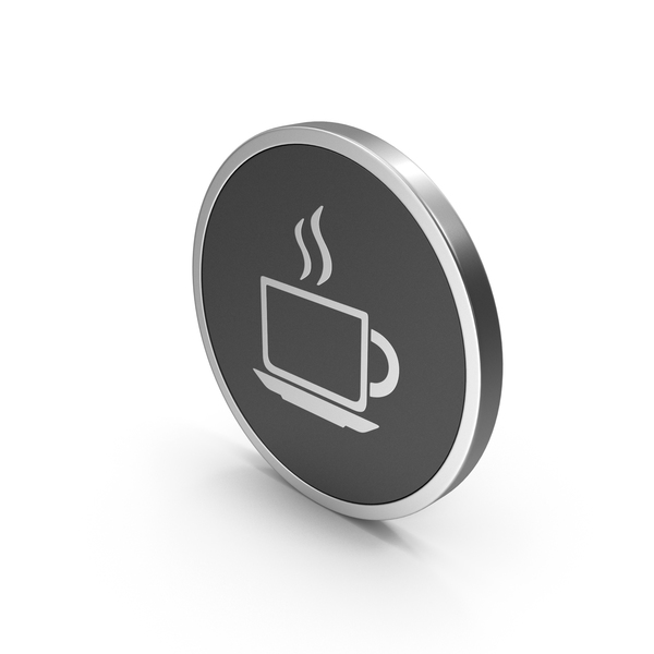 Computer: Silver Icon Coffee Cup PNG & PSD Images