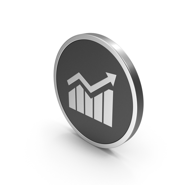 Silver Icon Graph PNG & PSD Images