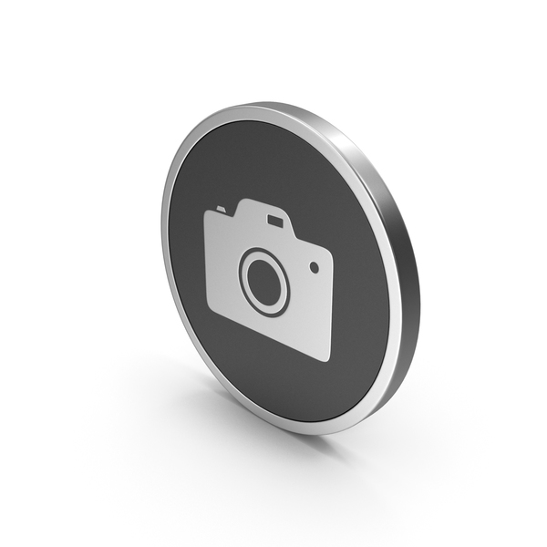 Logo: Silver Icon Photo Camera PNG & PSD Images