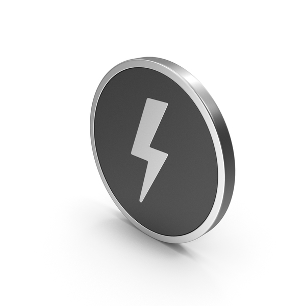 Meteorology Symbols: Silver Icon Storm PNG & PSD Images