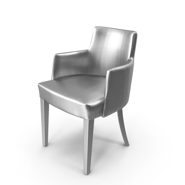 Silver Lounge Chair PNG & PSD Images
